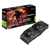 ASUS Cerberus GeForce GTX 1070 Ti Advanced Edition 8GB Video Card