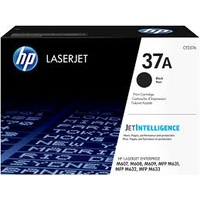 Hewlett Packard 37A BLACK ORIGINAL LASERJET TONER CARTRIDGE