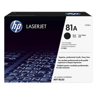 HP #81A Black Toner CF281A 10,500 pages