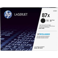 HP 87X High Yield Black Original LaserJet Toner Cartridge (CF287X)