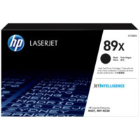 HP 89X BLACK LASERJET TONER CARTRIDGE