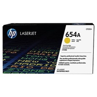 HP CF332A 654A Yellow Original LaserJet Toner Cartridge