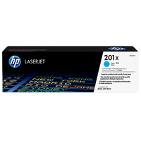 HP #201X Cyan Toner CF401X 2,300 pages