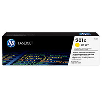 HP #201X Yellow Toner CF402X 2,300 pages