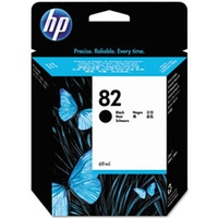 Hewlett Packard 82 BLACK 69-ML INK CARTRIDGE FOR DESIGNJET 111, 510