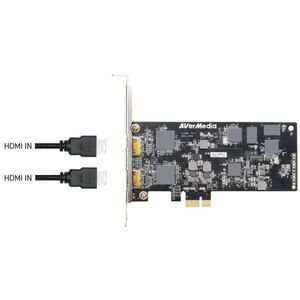 AVerMedia CL332-HN 1080P 30p HDMI Dual Channel H.265 H/W Encoder PCI-E Video Capture Card