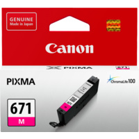 Canon CLI671M MAGENTA INK TANK FOR MG5760BK, MG6860, M7760