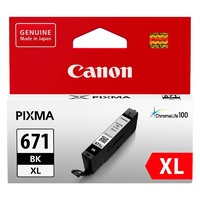 Canon CLI671XL Black Ink Cart