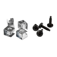 StarTech 10-32 Rack Screws and Clip Nuts - Rack Mount Screws and Nuts