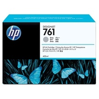 Hewlett Packard 761 GRAY 400 ML INK CART FOR DESIGNJET T7100