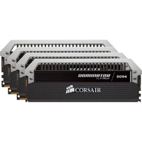 Corsair Dominator Platinum 64GB (4x16GB) DDR4 2666MHz C15 Desktop Gaming Memory