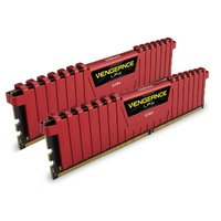 Corsair Vengeance LPX 16GB (2x 8GB) DDR4 2133MHz Memory Red