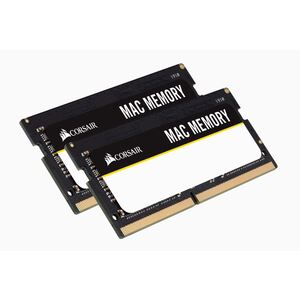 Corsair 64GB (2x32GB) DDR4 SODIMM 2666MHz C18 1.2V Memory for Mac Memory RAM
