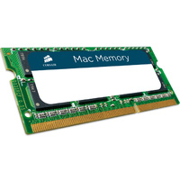 Corsair 8GB (1x 8GB) DDR3 1333MHz SODIMM Memory for Apple Mac CMSA8GX3M1A1333C9