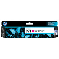 HP 971 Magenta Original Ink Cartridge, up to 2500 pages (CN623AA)