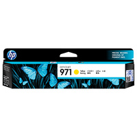 HP 971 Yellow Original Ink Cartridge, up to 2500 pages (CN624AA)