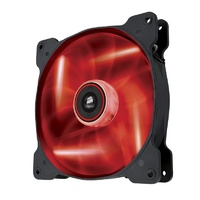 Corsair Air Series AF140 LED Quiet Edition Airflow 140mm Fan Red CO-9050017-RLED