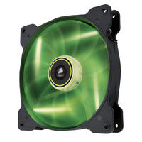Corsair Air Series SP140 LED High Static Pressure Edition 140mm Fan Green CO-9050027-WW