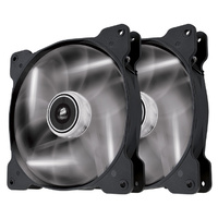 Corsair Air Series SP140 LED 140mm High Static Pressure Fan White - Twin Pack CO-9050035-WW