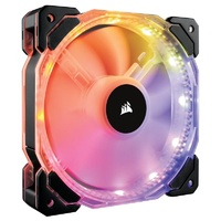 Corsair HD120 RGB LED High Performance 120mm PWM Fan (No Controller) CO-9050065-WW