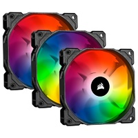 Corsair iCUE SP120 RGB PRO 120mm Case Fan - 3 Pack with Lighting Node CORE