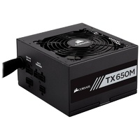 Corsair TX650M 650W 80 Plus Gold Semi-Modular Power Supply