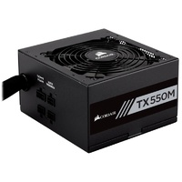 Corsair TX550M 550W 80 Plus Gold Semi-Modular Power Supply