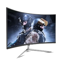 "AOC CQ32V1 31.5"" 75Hz QHD Curved Flicker-Free VA Gaming Monitor"
