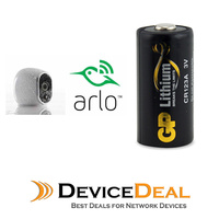 NETGEAR ARLO Powercell CR123A Replacement Lithium 3V, 1500mAH Batteries