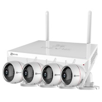 EZVIZ ezWireLess 4 Channel 1TB FHD NVR Wi-Fi Security Kit - 4x Cameras CS-BW2424-B1E10