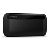 Crucial X8 500GB USB 3.2 Gen2 Type-C External Portable SSD CT500X8SSD9