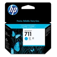 Hewlett Packard 711 CYAN INK CARTRIDGE 29-ML FOR DESIGNJET T120, T520