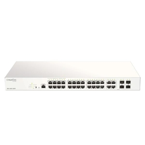 D-Link DBS-2000-28MP 28-Port Nuclias Cloud-Managed PoE Switch