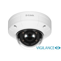 D-Link DCS-4633EV Vigilance 3MP Full HD Day & Night Outdoor Vandal-Proof Mini Dome PoE Network Camera