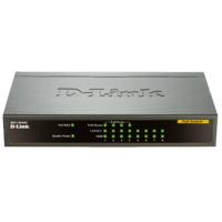D-LINK DES-1008PA Desktop PoE Switch