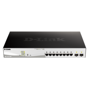 D-Link DGS-1210-10MP 10-Port Gigabit WebSmart PoE Switch