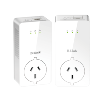 D-Link DHP-P701AV PowerLine AV2 2000 Gigabit Passthrough Kit