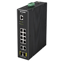 D-LINK DIS-200G-12SW 12-Port Gigabit Industrial Smart Managed Switch