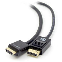ALOGIC 1m Smart Connect Display Port to HDMI Cable Male to Male DP-HDMI-01-MM