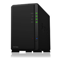 Synology DiskStation DS218Play 2 Bay Diskless NAS Quad Core CPU 1GB RAM