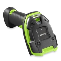 Zebra Barcode Scanner DS3608-ER Rugged Green Vibration Motor USB Kit