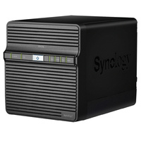 "Synology DiskStation DS420j 4-Bay 3.5"" Diskless NAS 1GB RAM Quad Core CPU"