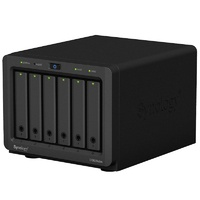 Synology DiskStation DS620Slim 6 Bay Diskless NAS Dual Core CPU 2GB RAM