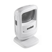 Zebra DS9208 2D Array Imager Omnidirectional Hands-Free Barcode Scanner - White