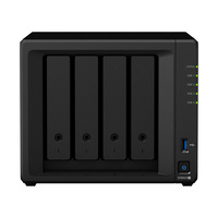 "Synology DiskStation DS920+ 4-Bay 3.5"" Diskless Intel Celeron J4125 4-core 2xGbE NAS (SMB) - 4GB RAM"