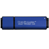 Kingston DataTraveler Vault Privacy 3.0 8GB USB 3.0 Flash Drive