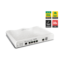 Draytek Vigor2862N Multi WAN VDSL2/ADSL2+ Gigabit Firewall Router Wireless N300 3G/4G LTE USB DV2862N