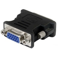 StarTech DVI to VGA Cable Adapter - Black - M/F