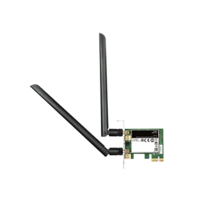 D-Link Wireless AC1200 Dual Band PCIe Desktop Adapter DWA-582