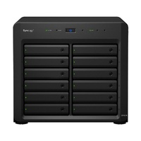 "Synology Expansion Unit DX1215 12-Bay 3.5"" Diskless NAS for Scalable Models (SMB/ENT)"